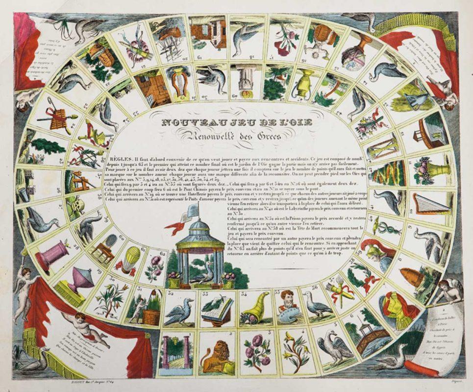 El juego de la Oca y el Camino de Santiago