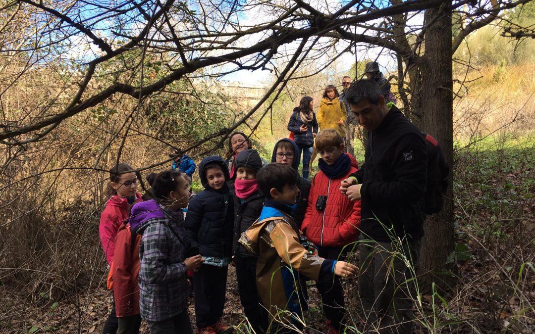 Nuestr@s jóvenes Explorador@s en el Arroyo Pedroche