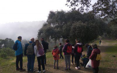 Senderismo y Perolete en Los Villares